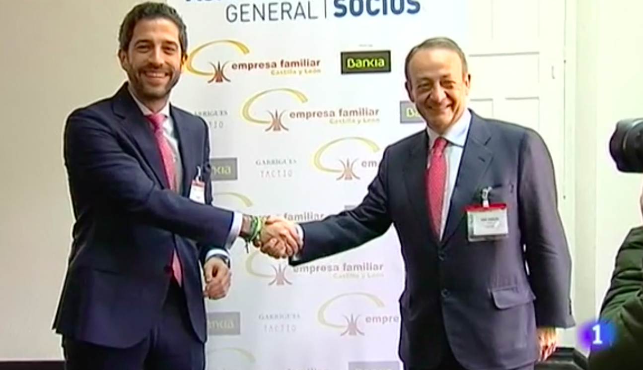 La empresa familiar de Castilla y León entra en las escuelas