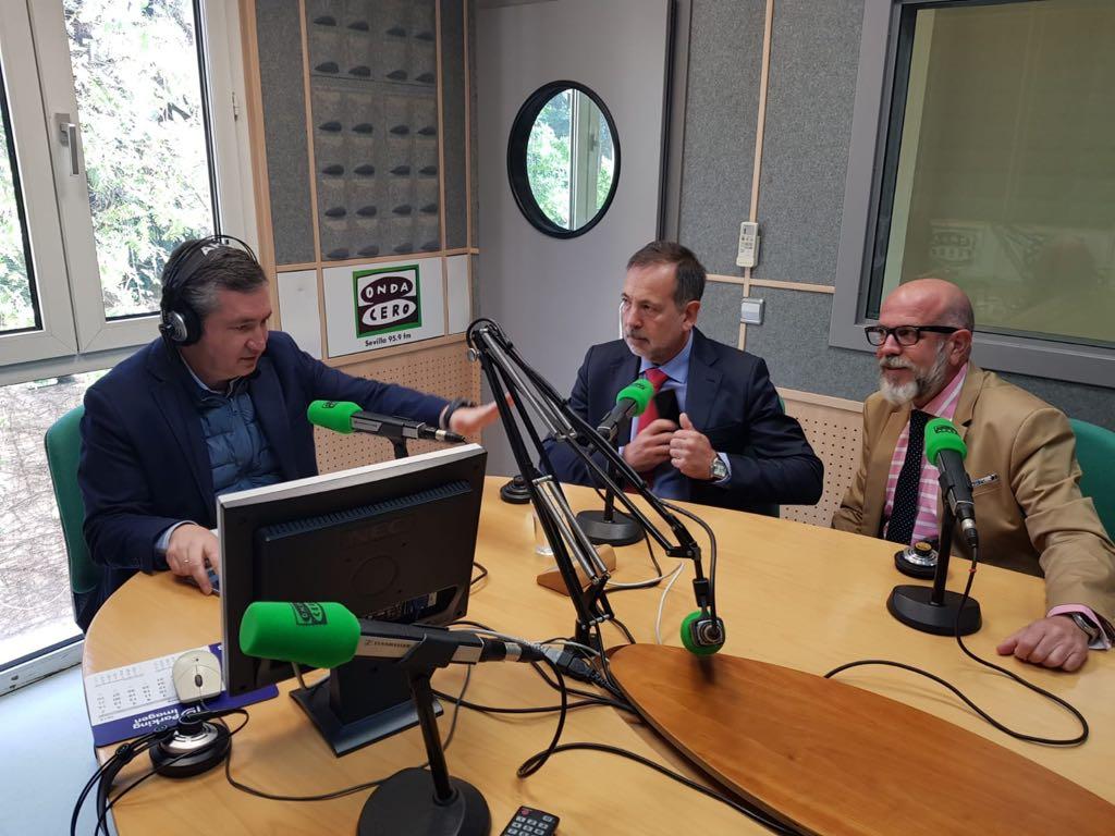 MArio Monros y Emilio Escobedo en Onda Cero