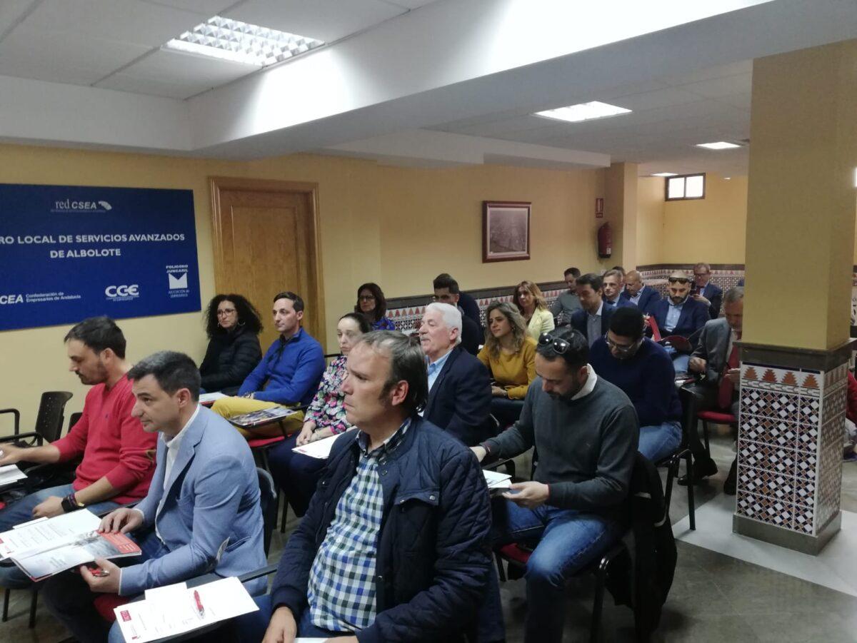 Empresarios de Granada participan en una sesión sobre gestión en el Parque de Juncaril