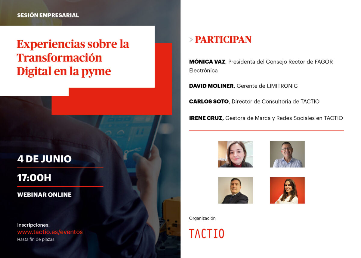 Programa WEBINAR transformación digital.